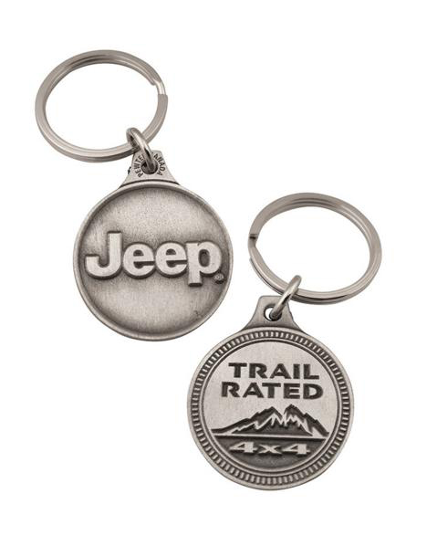 "Брелок ""Jeep Trail Rated"""