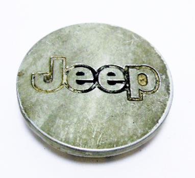 """Колпак колёсного диска б/у с надписью """"Jeep"""" D=55мм"""