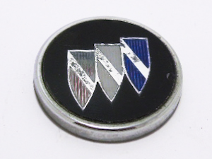 """Эмблема б/у """"Buick"""" круг чёрная D=40мм"""